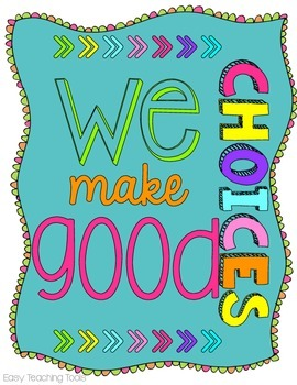 Classroom Decor: Positive Posters {Brights Design}