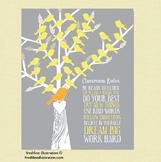 Classroom Decor Poster, Classroom Rules Poster, Custom Art Poster