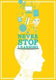Classroom Decor Poster Lifelong Learning Sunny Days Yellow