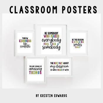 Classroom Decor Posters