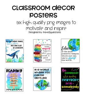 Classroom Decor Posters
