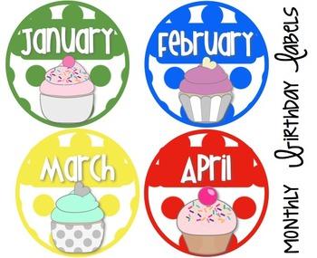 Classroom Decor -Primary Colors Polka Dots