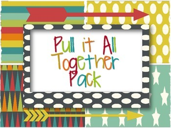 Classroom Decor: Pull it All Together, Muted Arrows
