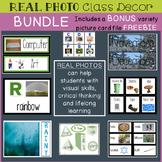 Classroom Decor REAL PHOTOS Bundle