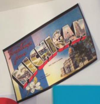 Classroom Decor Road Trip 50 States Nostalgic Postcards