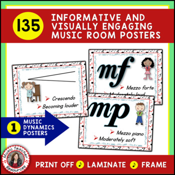 Music Classroom Decor SAVINGS BUNDLE: Set 1