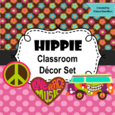 Classroom Decor Set ~ Hippie Groovy ~