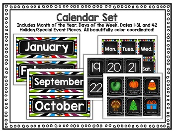 Classroom Decor Set - Outer Space Theme - With Tons of EDITABLE Templates