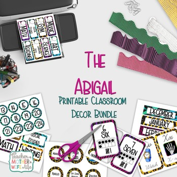 Classroom Decor Set - The Abigail