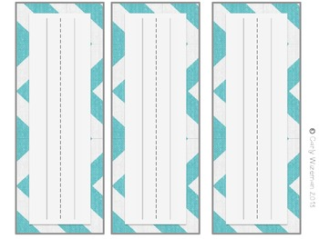 Classroom Decor Set: Turquoise, Green, Gray, Chevron, Chalkboard
