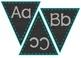 Classroom Decor Set: Turquoise, Purple, Gray, Chevron, Chalkboard