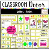 Classroom Decor Set-Yellow