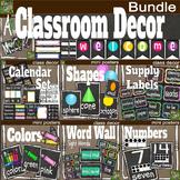 Classroom Decor Bundle- Simple Simon