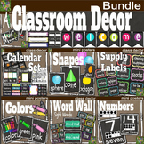Classroom Decor Bundle- Simple Simon