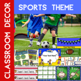 Sports Theme Editable Classroom Decor