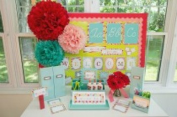 Classroom Decor Summer Soiree