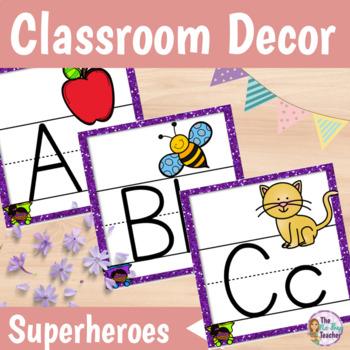 Classroom Decor Superhero Theme