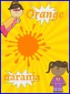 Classroom Decor- Superhero Themed Color Posters (English and Spanish)