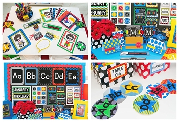 Classroom Decor Superheroes - Full Collection Bundle