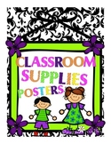 Classroom Decor Supply Posters
