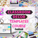 Classroom Decor Templates Course