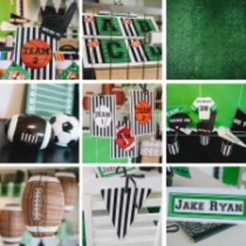 Classroom Decor Totally TEAMwork Sports - Full Collection