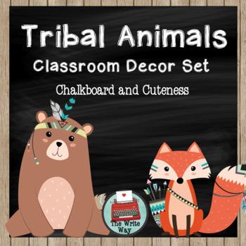 Classroom Decor - Tribal Animal Theme