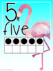 Classroom Decor Tropical Number Posters 0-20 Full Page and Half Page