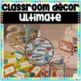 Classroom Decor Ultimate Bundle