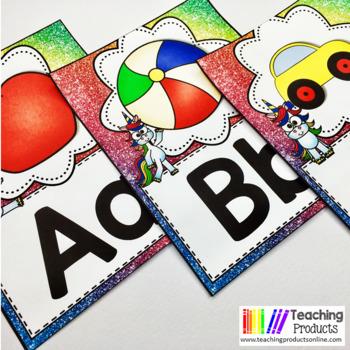 Classroom Decor Unicorn Theme Editable