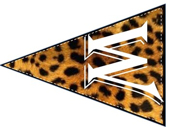 Classroom Decor: WELCOME Banner ( Cheetah Print)