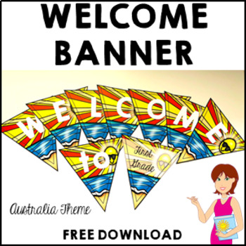 Classroom Decor Welcome Banner AUSTRALIA FREE DOWNLOAD