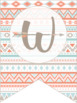 Classroom Decor - Welcome Banner {Aztec / Tribal Theme}