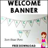 Classroom Decor Welcome Banner FARM HOUSE FREE DOWNLOAD