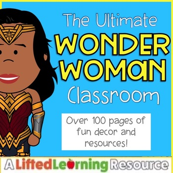 Classroom Decor - Wonder Woman