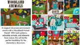 Classroom Decor Woodland Animals - Full Collection Bundle