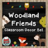 Classroom Decor - Woodland Friends
