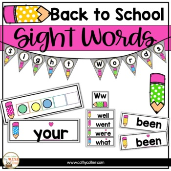 Classroom Decor: Word Wall Pencils