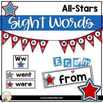 Classroom Decor: Word Wall Stars