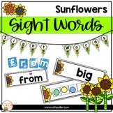 Classroom Decor: Word Wall Sunflowers