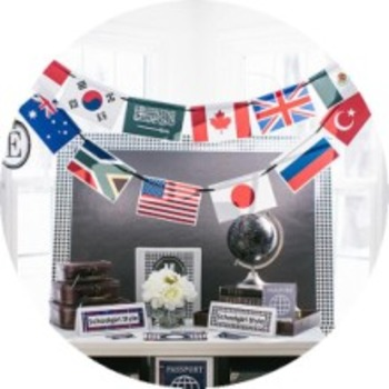 Classroom Decor World Traveler - Full Collection Bundle
