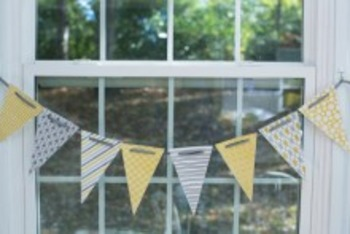 Classroom Decor Yellow & Gray - Full Collection Bundle