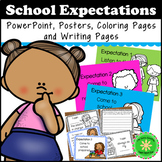 """Classroom Decor and EDITABLE Rules, Expectations, """"I can"""""""