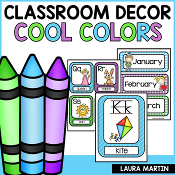 Classroom Decor-Cool Colors