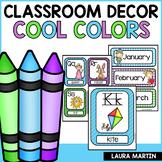 Classroom Decor Cool Colors   Back to School