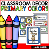 Classroom Decor Primary Colors | Back to School