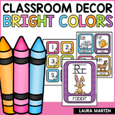 Classroom Decor Bright Colors | Back to School