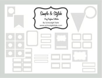 Classroom Decor and Organization Gray Gingham