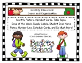 Classroom Decor and Organization Kit