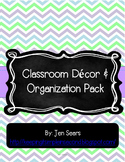 Classroom Decor and Organization Pack (Light)
